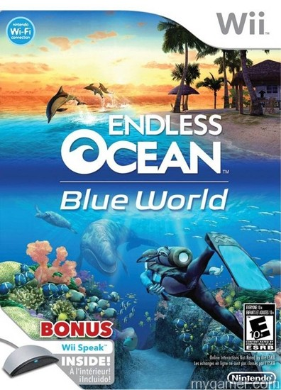 Endless Ocean Blue World WIi 10 Wii Games You Never Played and Probably Never Will 10 Wii Games You Never Played and Probably Never Will Endless Ocean Blue World WIi