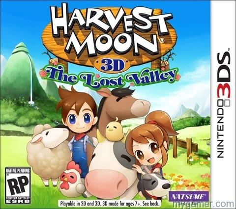 Harvest Moon Lost Valley Box
