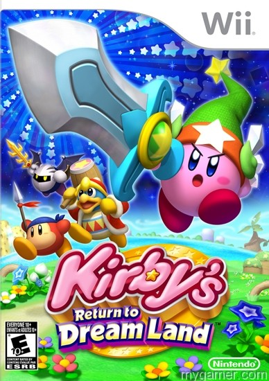 Kirbys Return to Dreamland Wii box