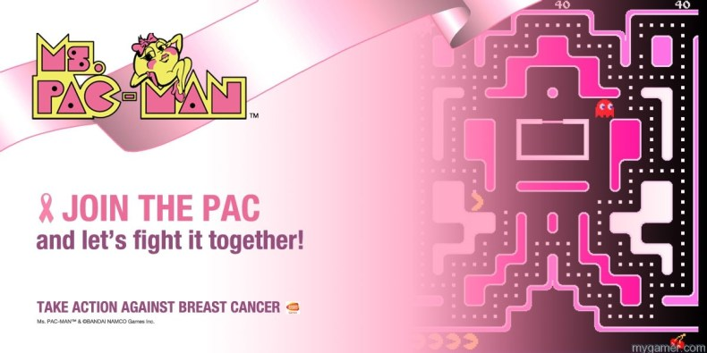 Ms. Pac-Man Fights Cancer Ms. Pac-Man Fights Cancer MsPACMAN Logo