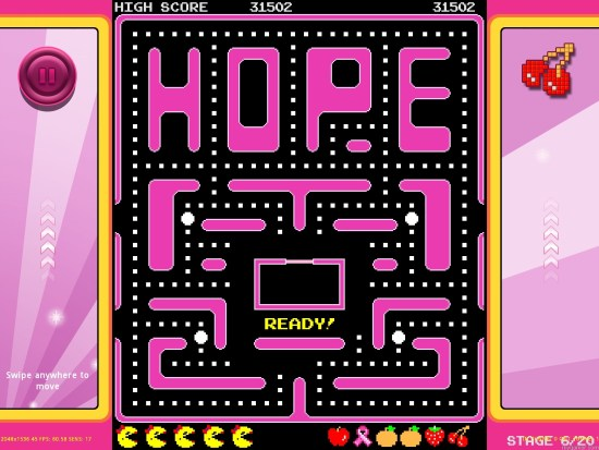 Screenshot_Maze_Hope Ms. Pac-Man Fights Cancer Ms. Pac-Man Fights Cancer Screenshot Maze Hope 1024x768