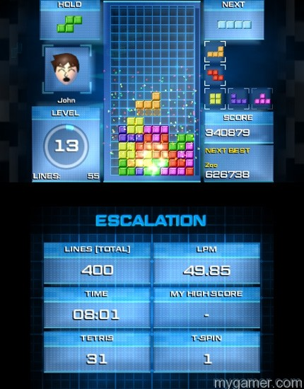 Tetris Ultimate 3DS Challenge Mode Tetris Ultimate Puzzling 3DS in November Tetris Ultimate Puzzling 3DS in November Tetris Ultimate 3DS Challenge Mode