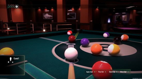 The ghost aimer only goes so far Pure Pool Xbox One Review Pure Pool Xbox One Review Pure Pool Xbox One screenshot 1 1024x576