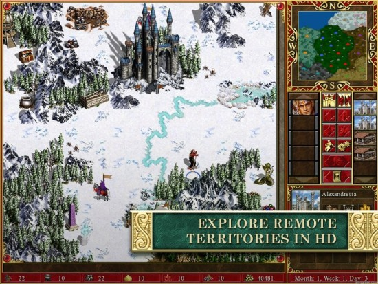 MMIII_SCREENSHOTS02_2048X1536_1418236145 Heroes of Might & Magic III Gets the HD Treatment on PC and Mobile Heroes of Might & Magic III Gets the HD Treatment on PC and Mobile MMIII SCREENSHOTS02 2048X1536 1418236145 1024x768