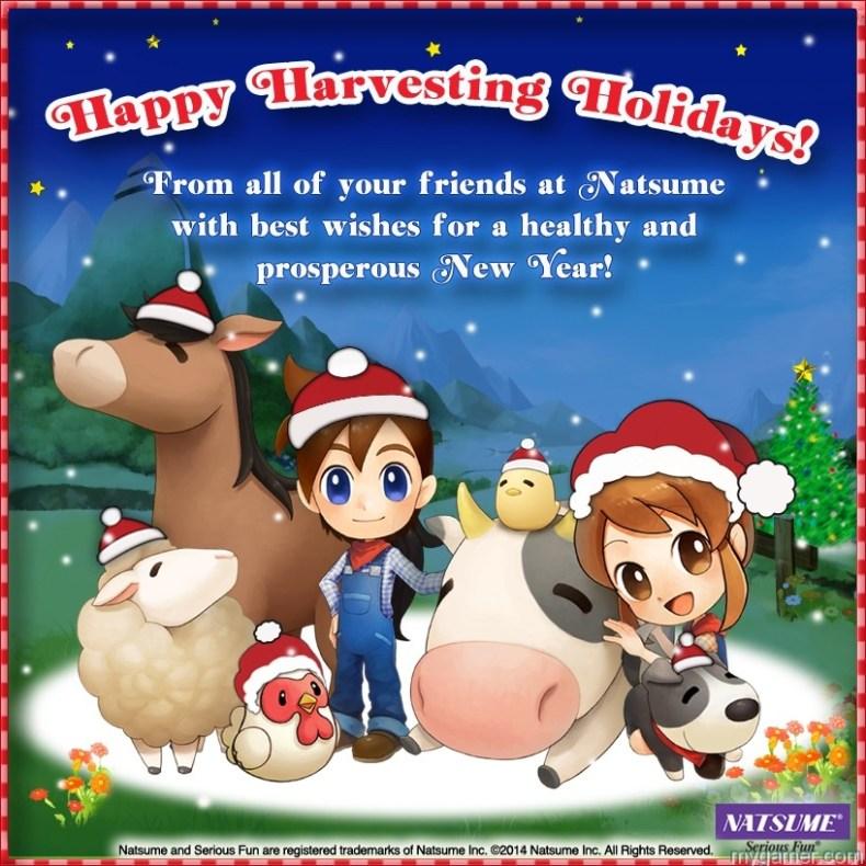 Natsume Holiday Card