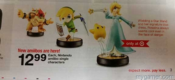 Leaked Target Ad Confirms Wave 3 Amiibos Launching Super Bowl Sunday Feb 1 Leaked Target Ad Confirms Wave 3 Amiibos Launching Super Bowl Sunday Feb 1 1Target 2 1 15 Amiibo