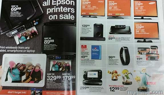 Full page. Amiibos in bottom right corner Leaked Target Ad Confirms Wave 3 Amiibos Launching Super Bowl Sunday Feb 1 Leaked Target Ad Confirms Wave 3 Amiibos Launching Super Bowl Sunday Feb 1 1Target 2 1 5 All