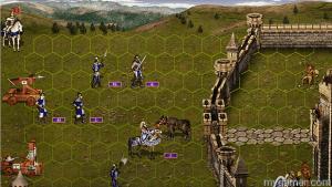 Heroes MM III battle