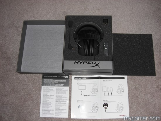 It comes in thoughtful packaging HyperX Cloud II Headset Review HyperX Cloud II Headset Review CIMG3265