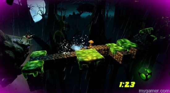 Just wouldn't be a game without toxic slime pits Mushroom Men: Truffle Trouble (PC) Review Mushroom Men: Truffle Trouble (PC) Review mushroom men truffle trouble 2713528