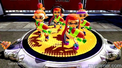 4v4 Splatoon Wii U Preview Splatoon Wii U Preview Splatoon THUMB medium