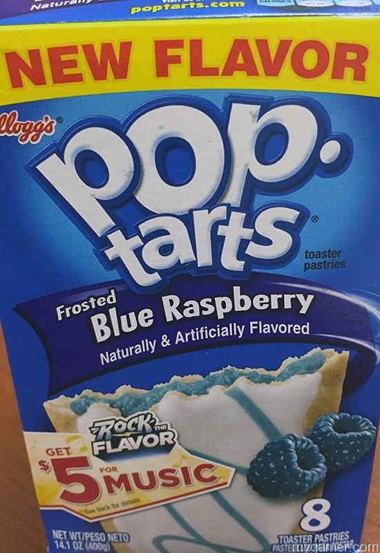 Gamer's Gullet – Blue Raspberry Pop-Tarts Gamer's Gullet – Blue Raspberry Pop-Tarts Review IMG 0982