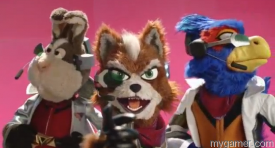 Nintendo E3 2015 Star Fox Muppets
