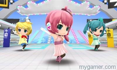 Hatsune Miku Project Mirai DX dancers