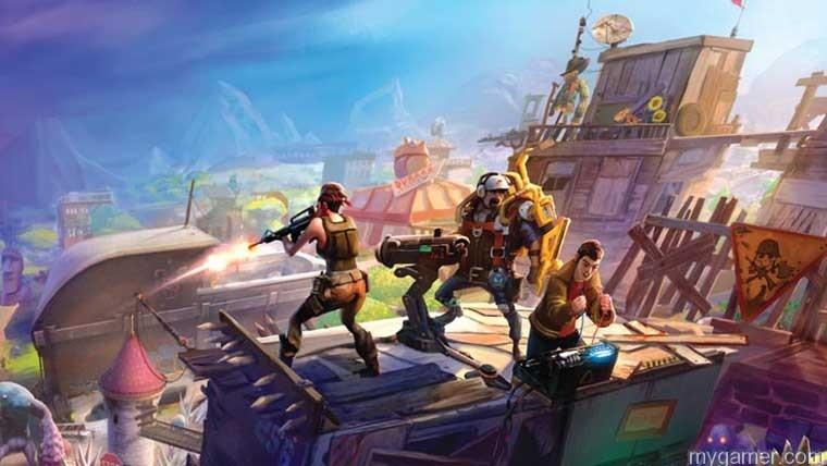 Coop gameplay in Fortnite