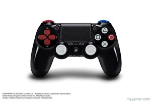 Star Wars Playstation 4 Controller Star Wars Bundles with Darth Vader-Inspired PlayStation 4 System and DUALSHOCK 4 Wireless Controller Revealed Star Wars Bundles with Darth Vader-Inspired PlayStation 4 System and DUALSHOCK 4 Wireless Controller Revealed DS4 StarWarsBattlefront 01 Front 300x200