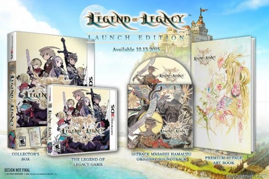 Legend of Leg LE The Legend of Legacy Gets Massive Limited Edition The Legend of Legacy Gets Massive Limited Edition Legend of Leg LE