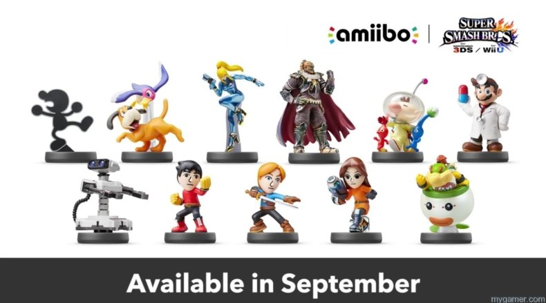 Try And Get Your Hands on the Next Amiibo Wave in Sept in the US Try And Get Your Hands on the Next Amiibo Wave in Sept in the US amiibo wave 5 Sept 2015