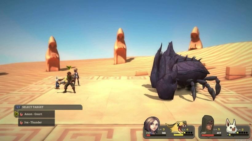 Combat in Earthlock: Festival of Magic