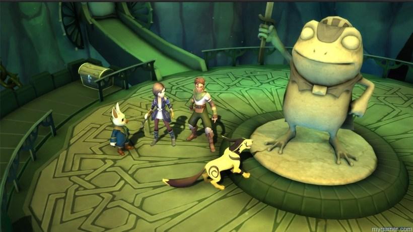 Gameplay in Earthlock FoM