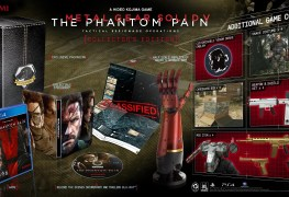 Metal Gear Solid V: Phantom Pain Collector's Edition Unboxing Video Metal Gear Solid V: Phantom Pain Collector's Edition Unboxing Video MGS Hero Shot Amended Tues 03 03 Copy