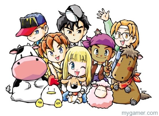 Harvest Moon: More Friends of Mineral Town Grows on Wii U Virtual Console Harvest Moon: More Friends of Mineral Town Grows on Wii U Virtual Console Harvest Moon More Friend of Mineral Town banner