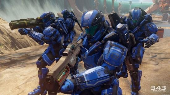 Halo 5 blue