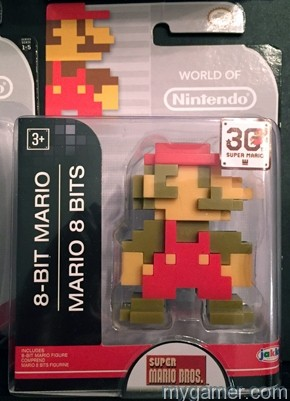 This is basically a mini version of the 8-bit Mario amiibo