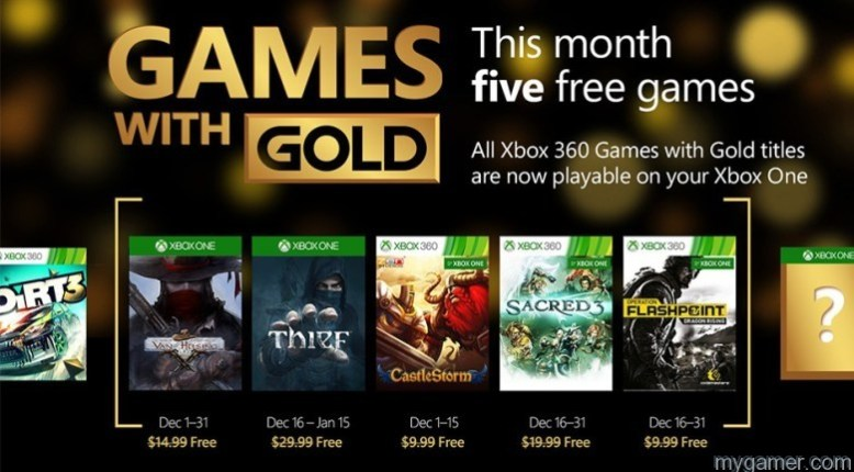 5 Free Games For Xbox Live Gold Members in December 2015 5 Free Games For Xbox Live Gold Members in December 2015 Xbox Games with Gold Dec2015