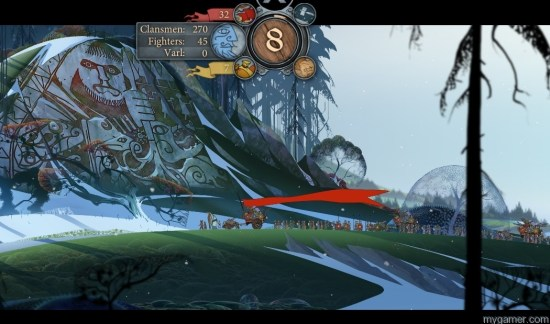 Makes you feel like you're a small dot in a huge world The Banner Saga Xbox One Review The Banner Saga Xbox One Review Banner Saga Godstone