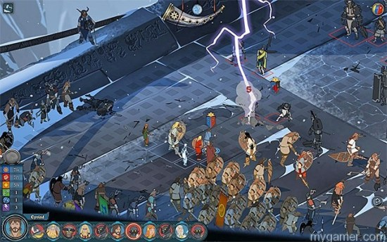 Magic is very rare. Swords, axes, spears and bows are the main tools of fighting. The Banner Saga Xbox One Review The Banner Saga Xbox One Review Banner Saga magic