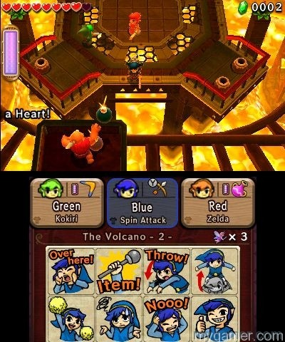LoZ Tri Force Heroes Screen1 Legend of Zelda: Tri Force Heroes 3DS Review Legend of Zelda: Tri Force Heroes 3DS Review LoZ Tri Force Heroes Screen1