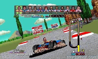 Sega 3D Classics Power Drift