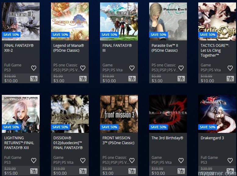 Square Enix sale 1-26-16-2 square enix sale on psn right now Square Enix Sale on PSN Right Now Square Enix sale 1 26 16 2