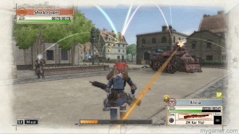 Valkyria Chron PS4 battle