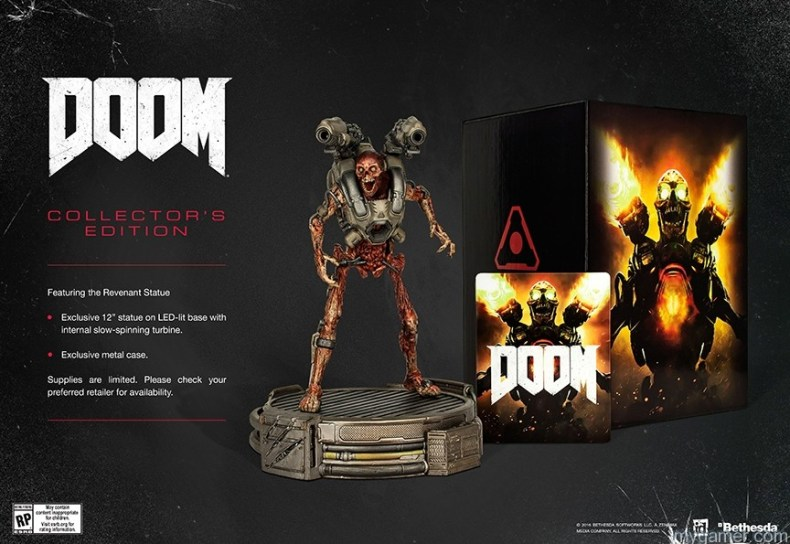 Doom is Coming Mid-May with Collector's Edition Doom is Coming Mid-May with Collector's Edition DOOM CE