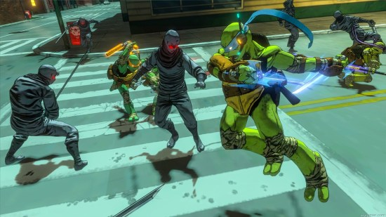 TMNT_MiM_Screen6 Platinum and Activision Will Release TMNT: Mutants in Manhattan this Summer Platinum and Activision Will Release TMNT: Mutants in Manhattan this Summer TMNT MiM Screen6