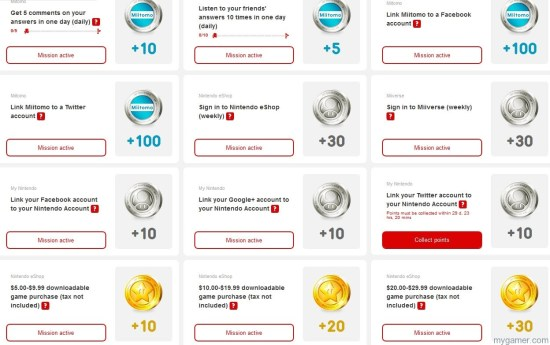 My Nintendo Missions Nintendo Launches My Nintendo Reward Program Nintendo Launches My Nintendo Reward Program My Nintendo Missions