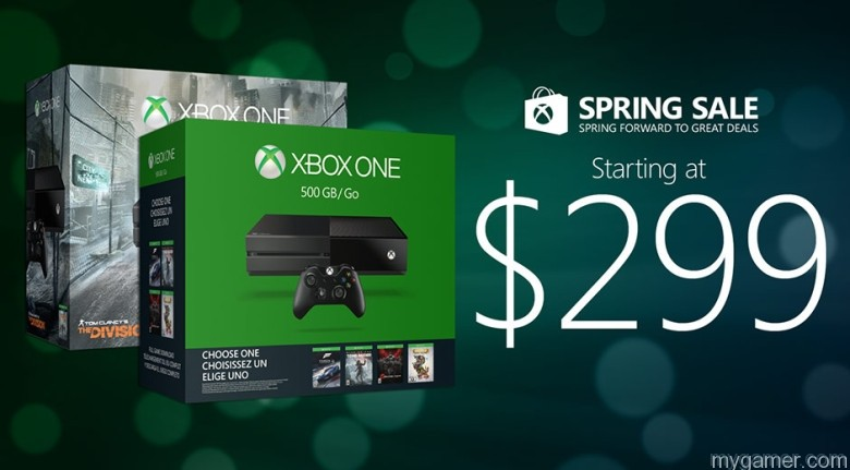 Xbox One 2016 springsalehero