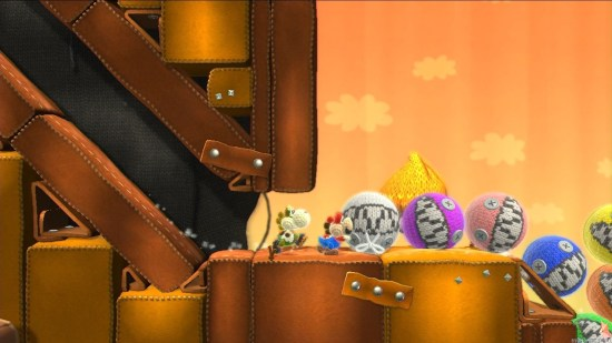 Yoshi Woolly World rockpush Yoshi's Woolly World Wii U Review Yoshi's Woolly World Wii U Review Yoshi Woolly World rockpush