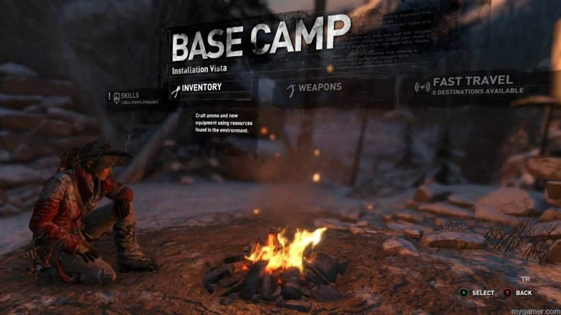 camp Rise of the Tomb Raider Review Rise of the Tomb Raider Review camp