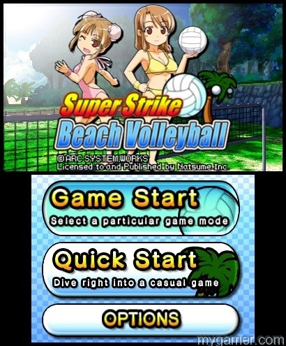 Natsume's Super Strike Beach Volleyball Now Available on 3DS eShop Natsume's Super Strike Beach Volleyball Now Available on 3DS eShop SSBV1