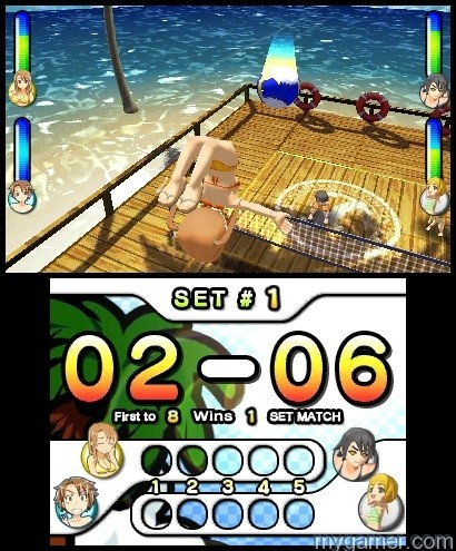 SSBV(5) Natsume's Super Strike Beach Volleyball Now Available on 3DS eShop Natsume's Super Strike Beach Volleyball Now Available on 3DS eShop SSBV5