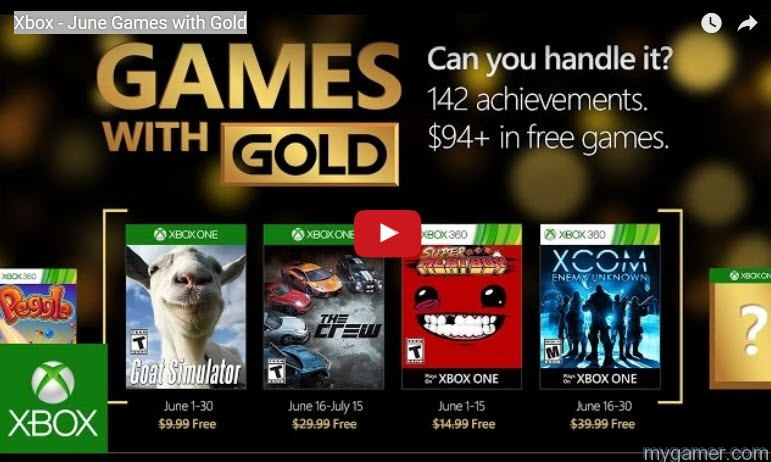 Xbox Live June 2016 Free Games With Gold Announced Xbox Live June 2016 Free Games With Gold Announced June2016 Xbox Live Games With Gold