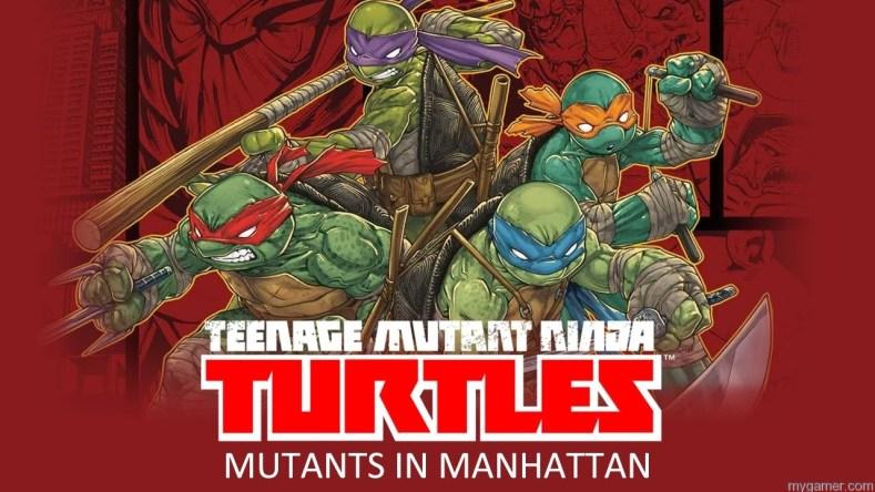 TMNT Mutants In Manattan abnner