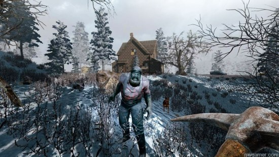 This game hopes you like fighting the same zombie over and over. 7 Days To Die Xbox One Review 7 Days To Die Xbox One Review 7 Days To Die Screen Snow