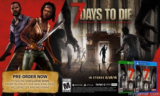 Because this is a Telltale game, there are Walking Dead skins 7 Days To Die Xbox One Review 7 Days To Die Xbox One Review 7DaystoDie bonusLG