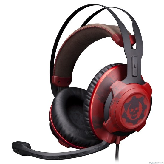 HyperX Cloud Rev Gears of War The HyperX CloudX Revolver Gears of War Headset Looks... Bloody The HyperX CloudX Revolver Gears of War Headset Looks… Bloody HyperX Cloud Rev Gears of War