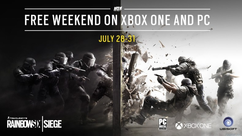 Rainbow Six Siege Will Be Free To Play This Weekend on X1 and PC Rainbow Six Siege Will Be Free To Play This Weekend on X1 and PC R6SIEGE Xbox and PC Free Weekend 7 1469650888