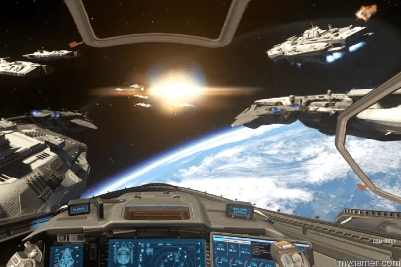 infinite warfare gameplay space combat